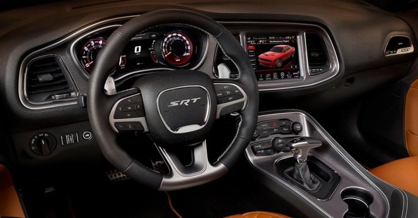 Dodge Challenger SRT Hellcat. Interior | Automotiva