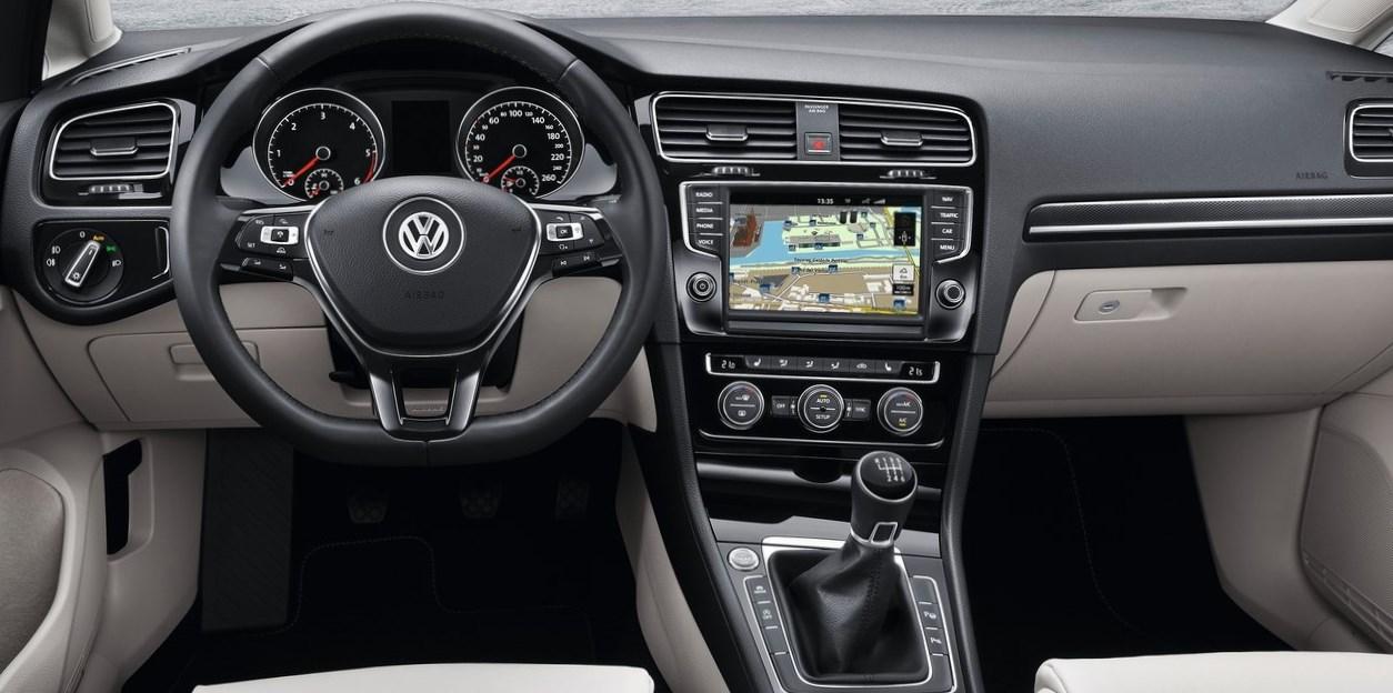 Interior del volkswagen golf variant automotiva for Interior golf variant