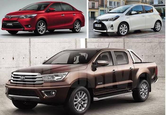 Novedades Toyota para Argentina. Hilux, Yaris y Vios | Automotiva