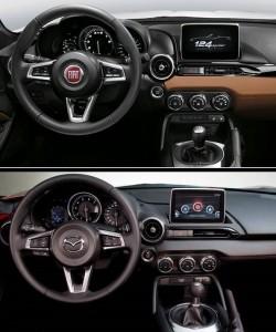 Fiat 124 Spider vs Mazda MX-5