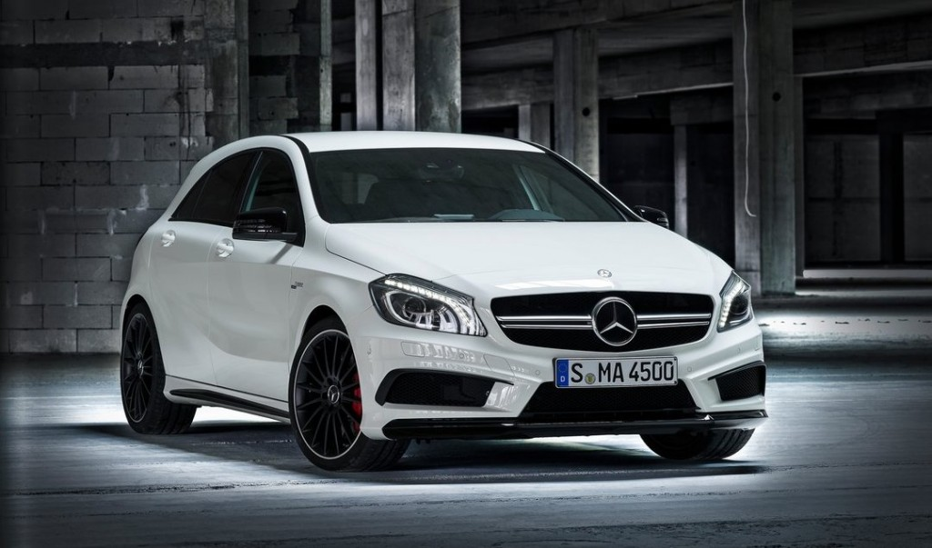"Mercedes A45 AMG ""normal"""