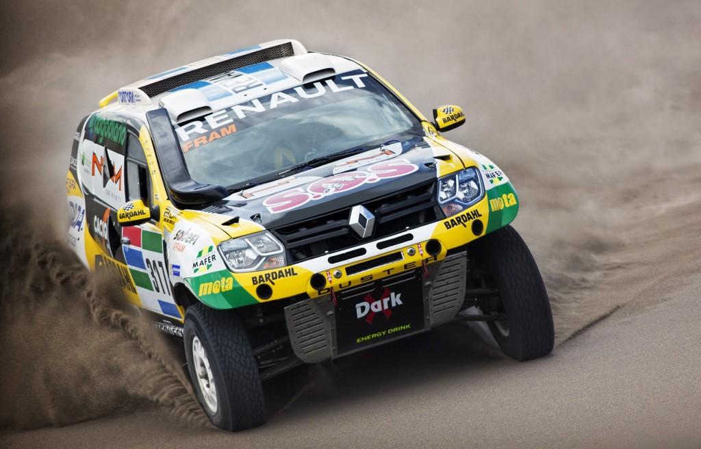 Renault Duster Dakar Team listo para la aventura
