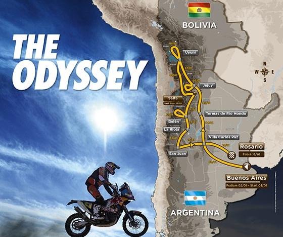 Dakar 2016. El recorrido
