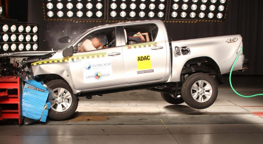 Toyota Hilux 2016 en el LatiNCAP