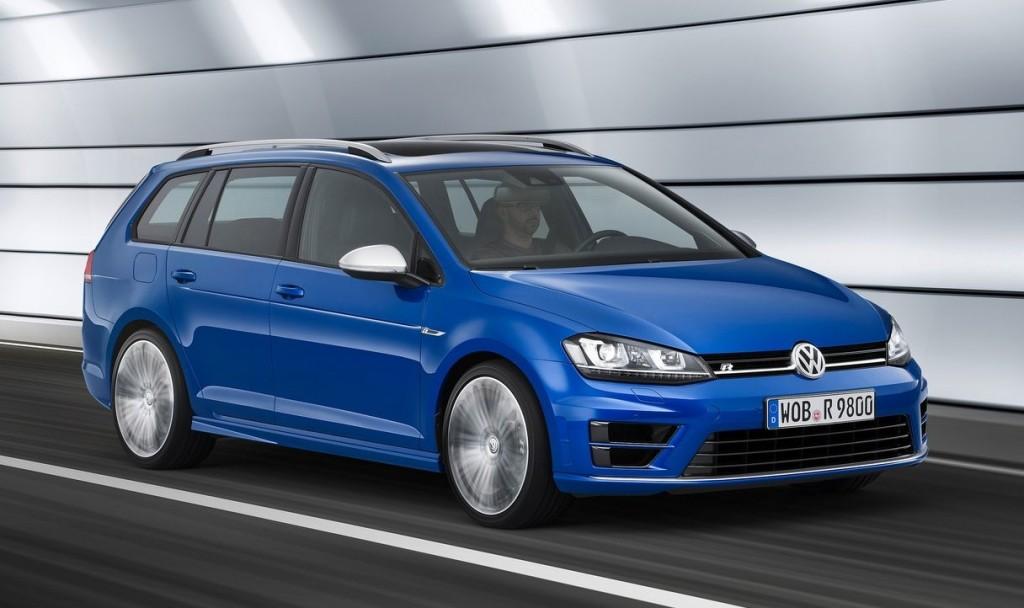 Volkswagen Golf Variant (Version R, que no llega a nuestro pais)