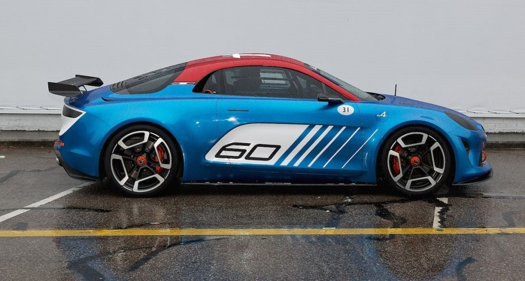 Alpine A120 cuando fue adelantado como Celebration Concept