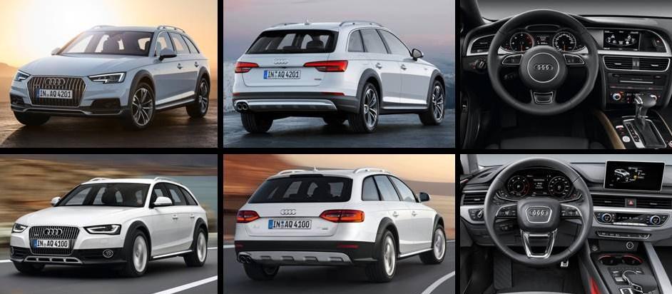 Audi A4 Allroad 2016 vs A4 Allroad actual