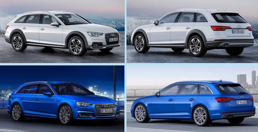 Audi A4 Allroad 2016 vs A4 Variant 2016