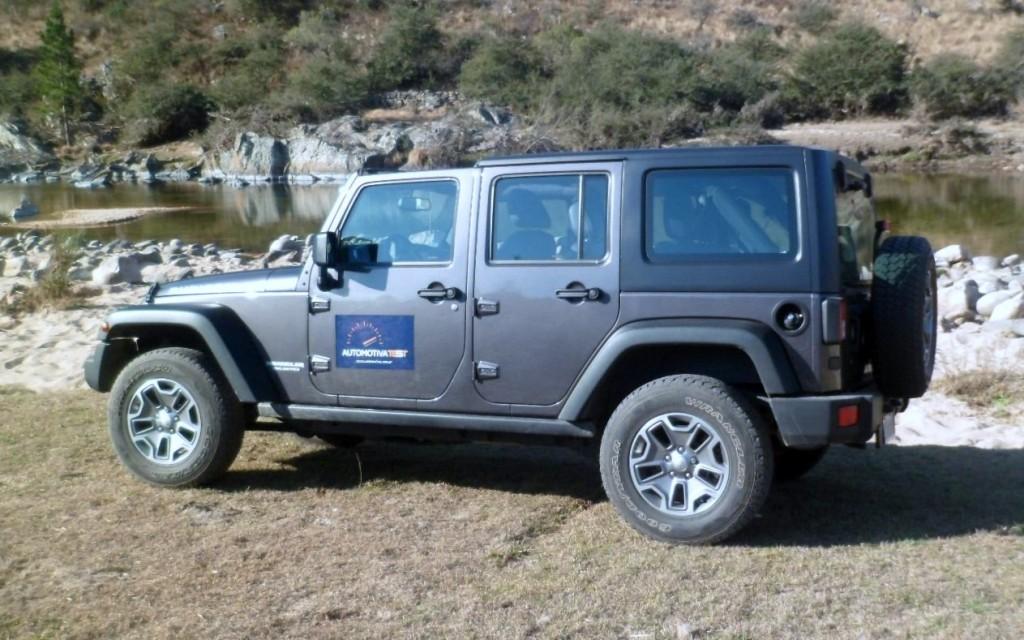 Jeep Wrangler Rubicon, probado recientemente