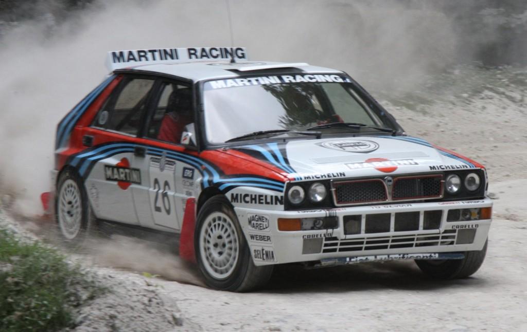 Lancia Delta HF Integrale en el rally mundial