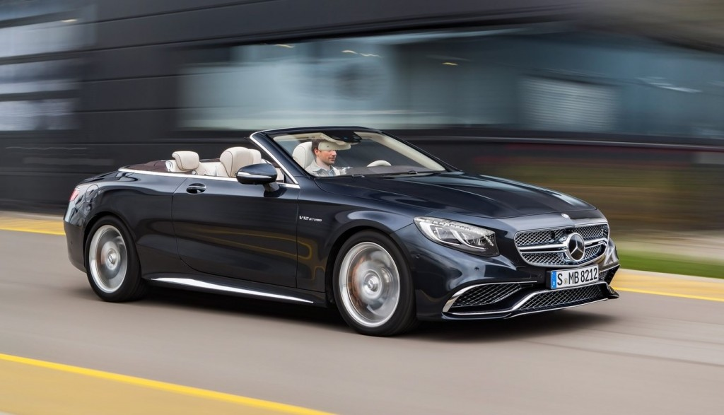 Mercedes-Benz AMG S65 convertible