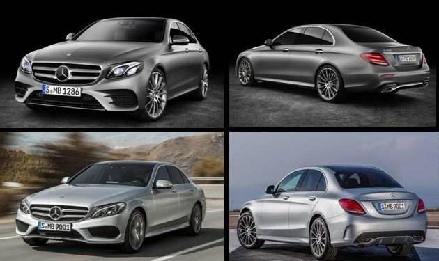 Mercedes-Benz Clase E vs Clase C