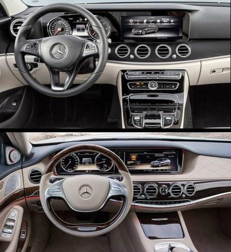 Este es el nuevo mercedes benz clase e 2016 automotiva for Interior clase a