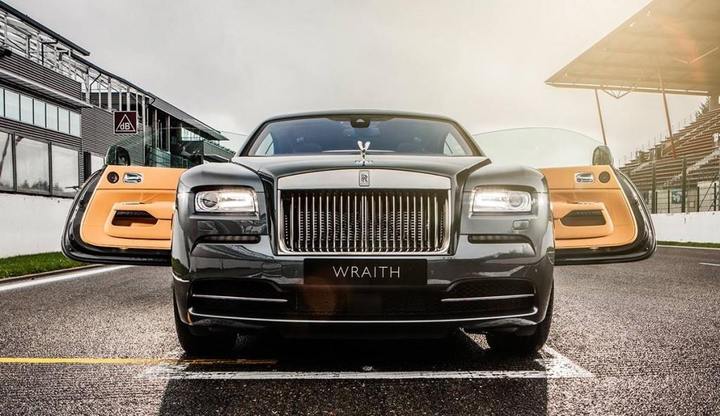 Rolls-Royce Spa-Francorchamps Wraith