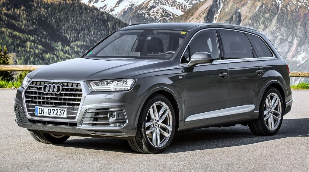 """Audi SQ7 2016 """"normal"""""""
