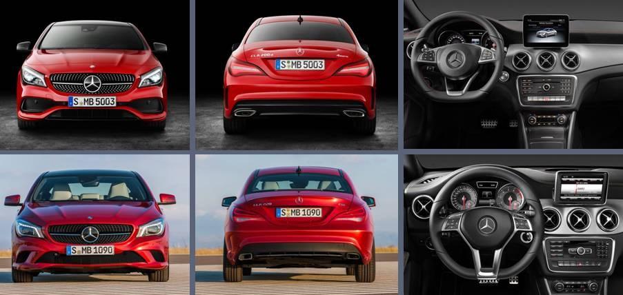 Mercedes-Benz CLA 2016 vs actual