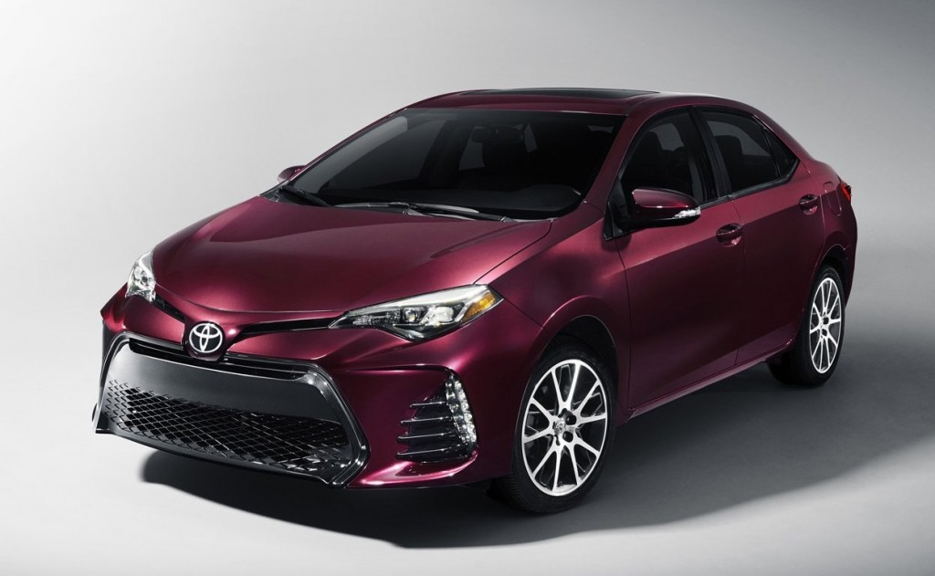 Toyota Corolla 2017 para USA