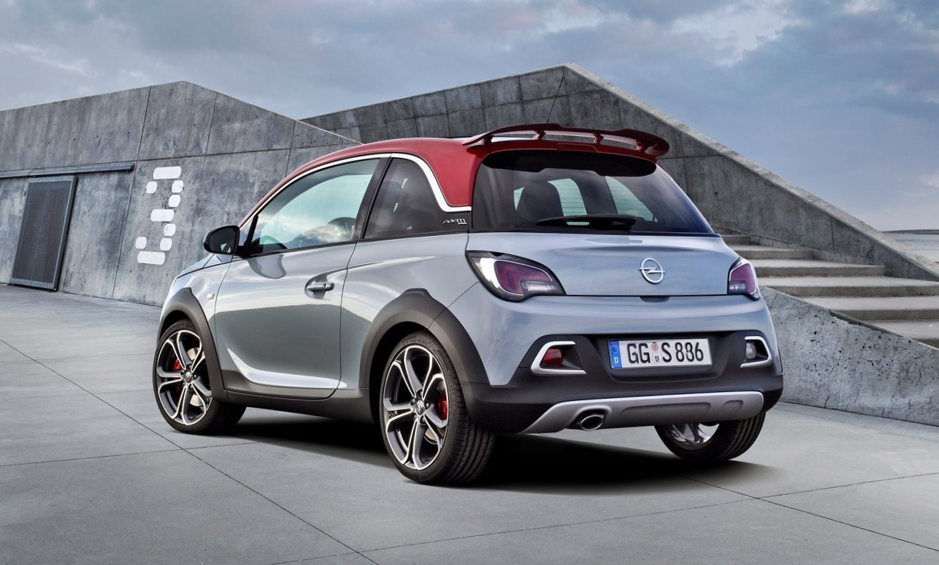 opel adam rocks s 150 cv en envase chico lejos de argentina automotiva. Black Bedroom Furniture Sets. Home Design Ideas