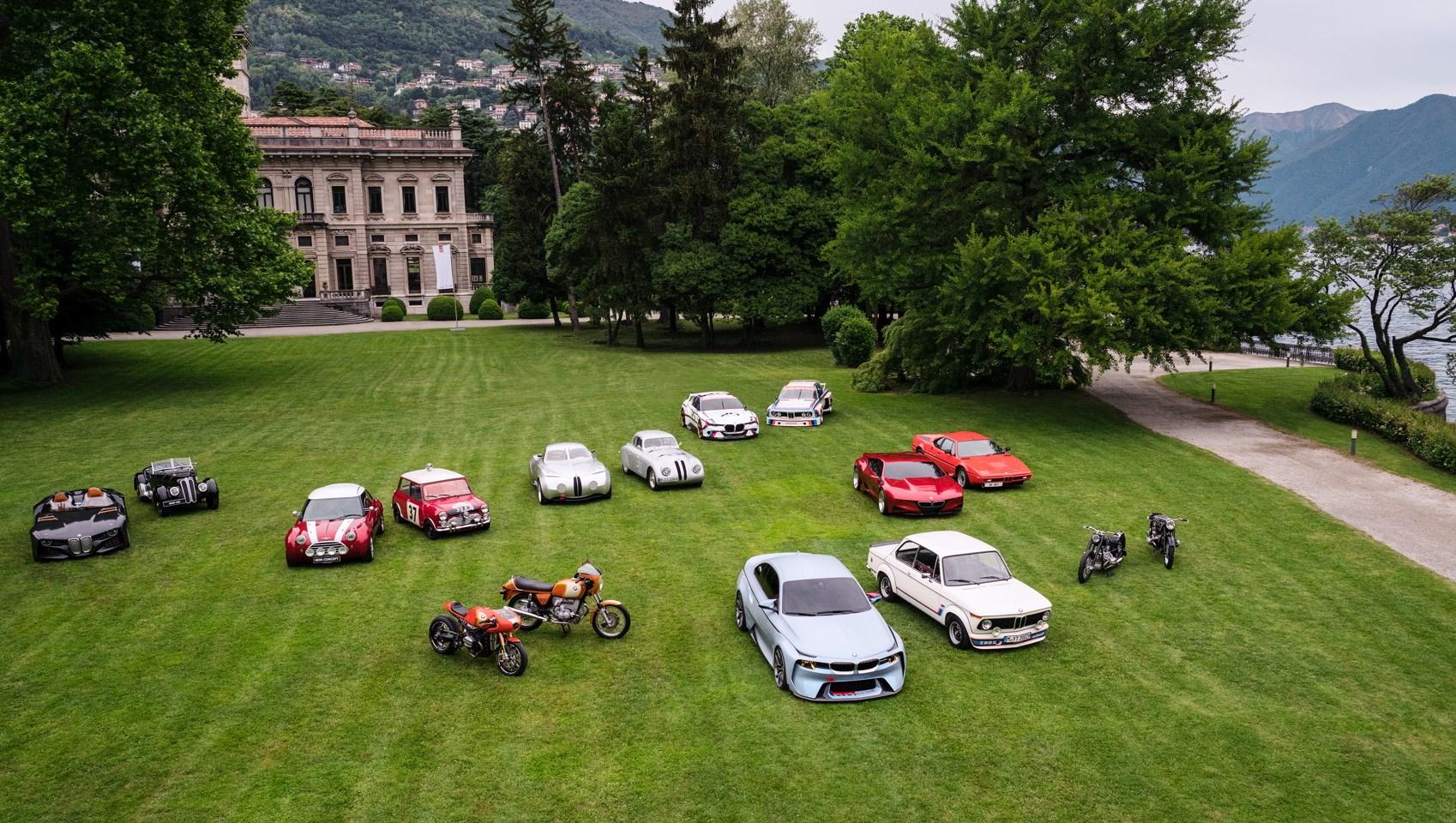 Los BMW en Villa d´Este