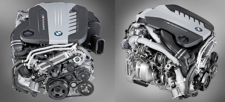 BMW 750d. 4 turbos