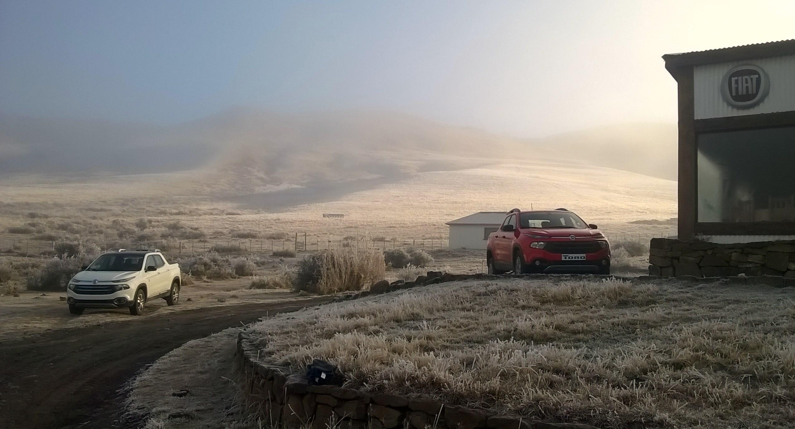 Fiat Toro en la alta montaña