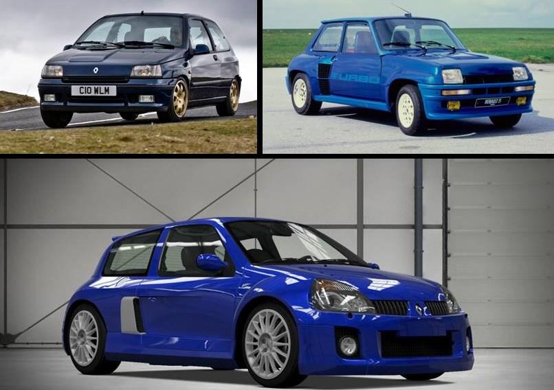Algunos protagonistas de la historia de Renault Sport