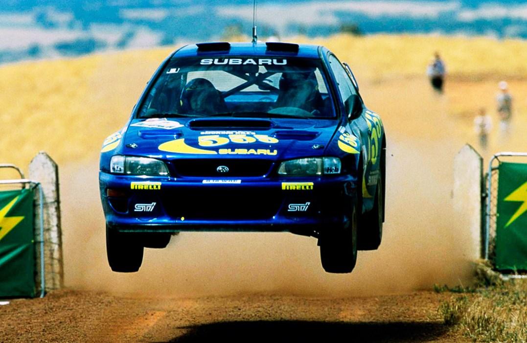 Subaru 555 y Colin McRae