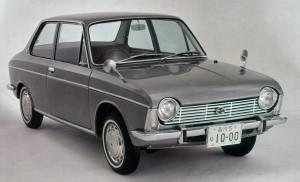 Subaru 1000 196. Precursor de los motores Boxer