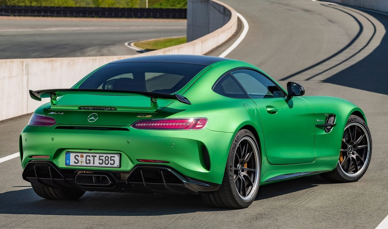 mercedes amg gt r soberbio y en color verde nurburgring automotiva. Black Bedroom Furniture Sets. Home Design Ideas