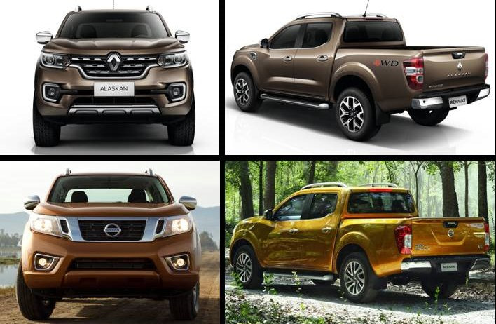 Renault Alaskan 2017 vs Frontier