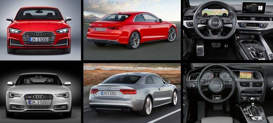 Audi S5 2017 vs S5 2012