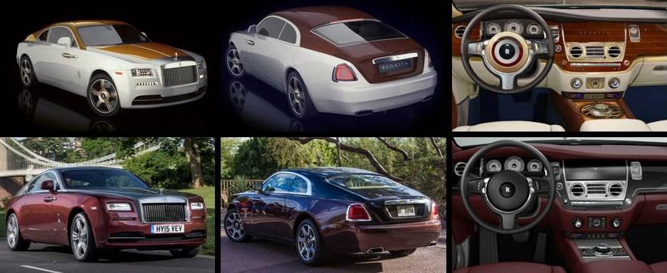"Rolls-Royce Wraith Regatta vs el ""normal"""
