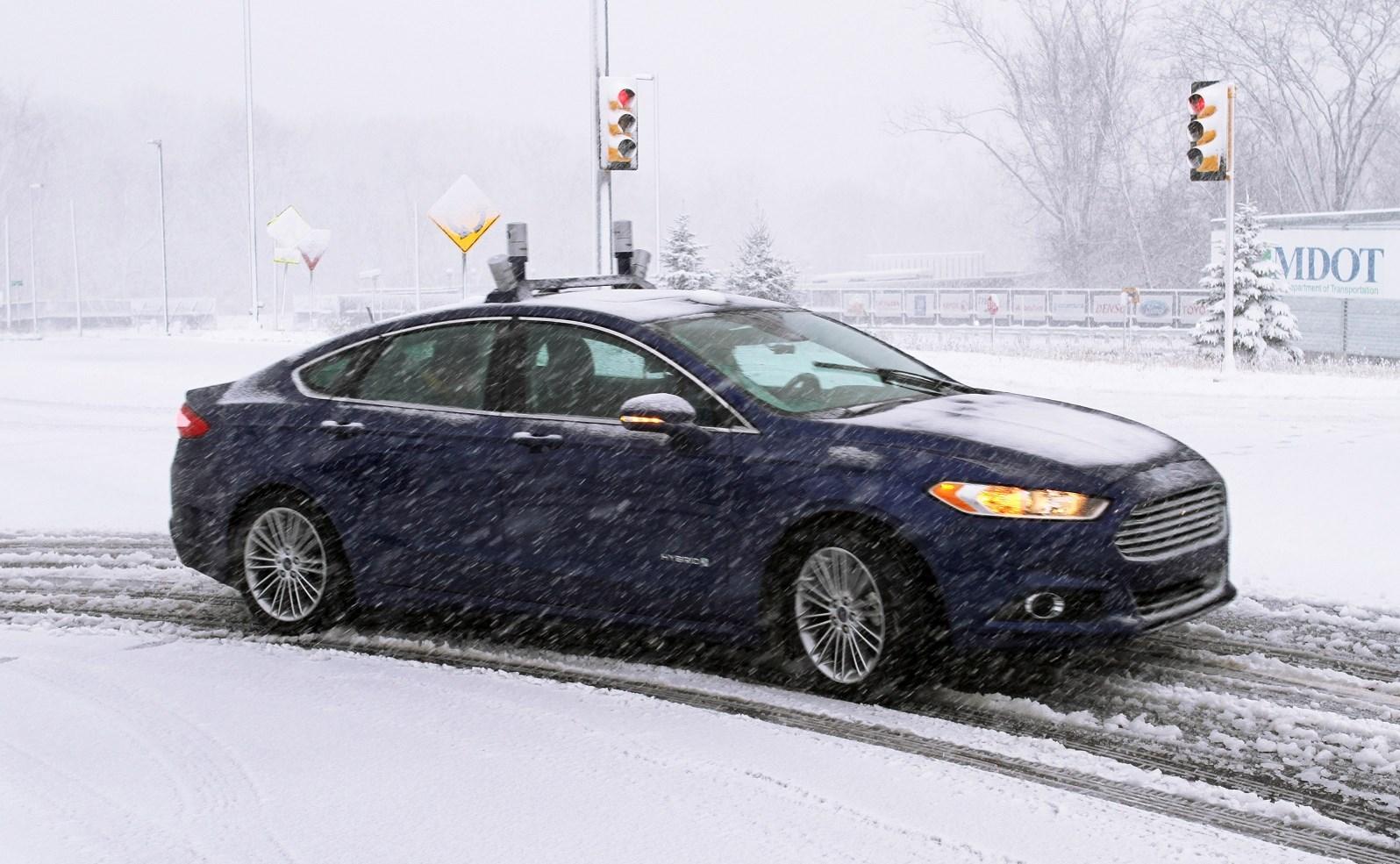 Ford Mondeo Hybrid Autónomo