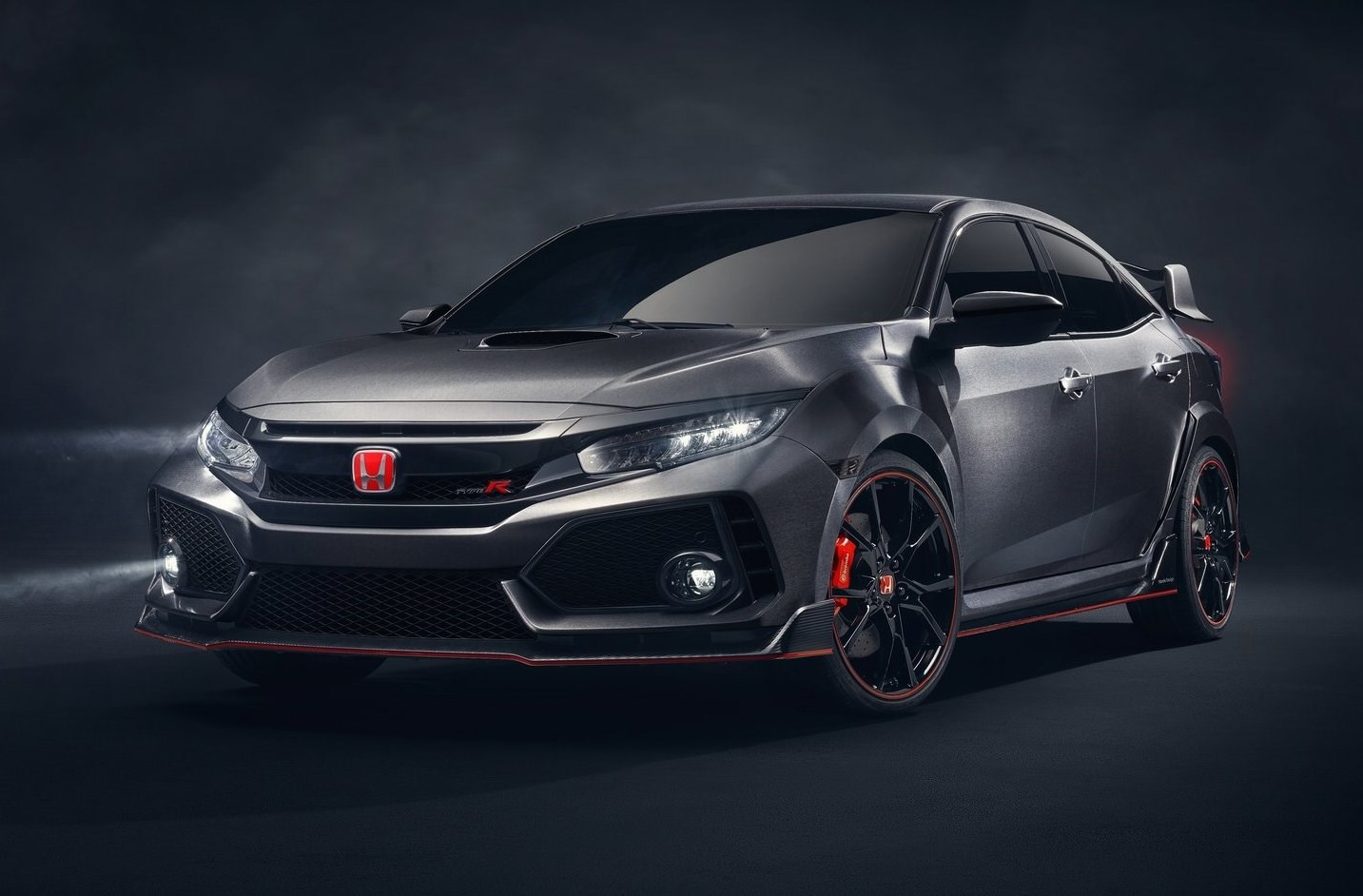 este es el espectacular honda civic type r 2017 300 cv automotiva. Black Bedroom Furniture Sets. Home Design Ideas