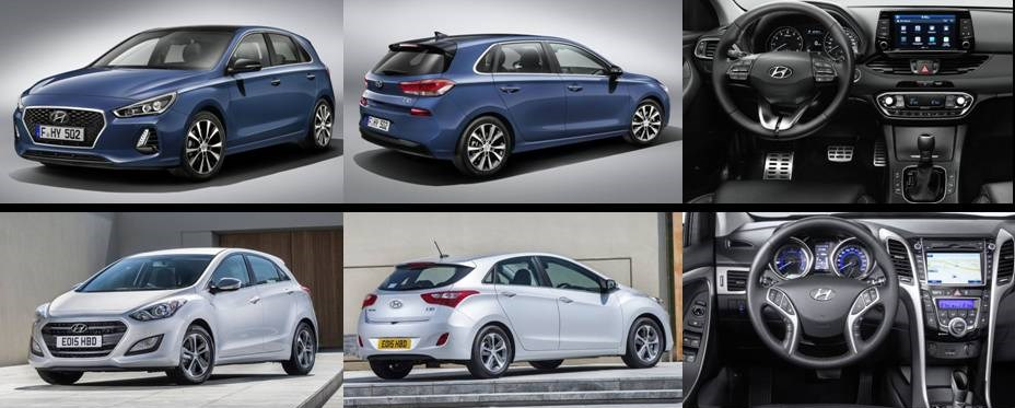 Hyundai i30 2017 vs actual