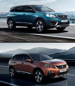 Peugeot 5008 y 3008