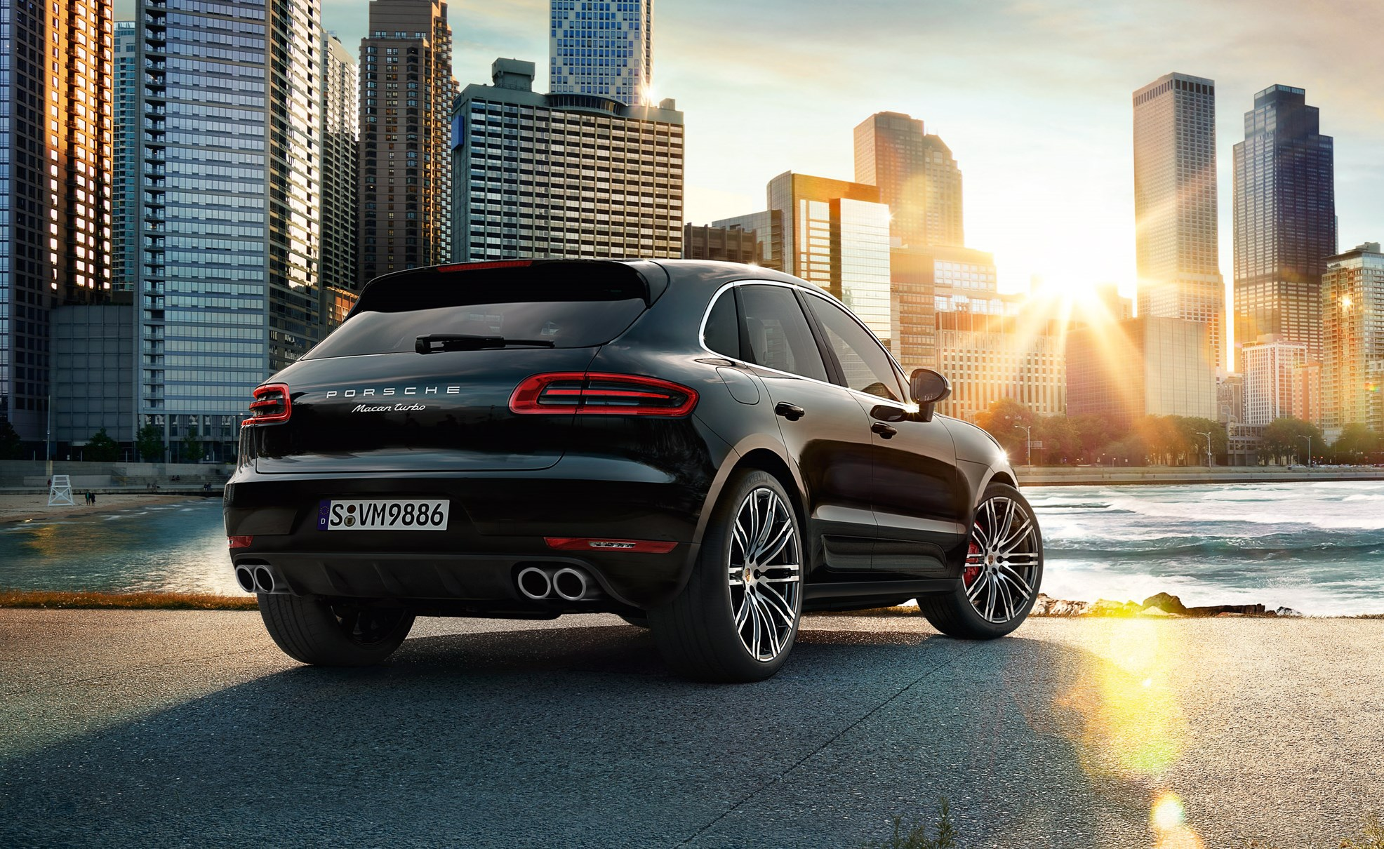 porsche presenta el nuevo macan turbo performance package 40 cv m s automotiva. Black Bedroom Furniture Sets. Home Design Ideas