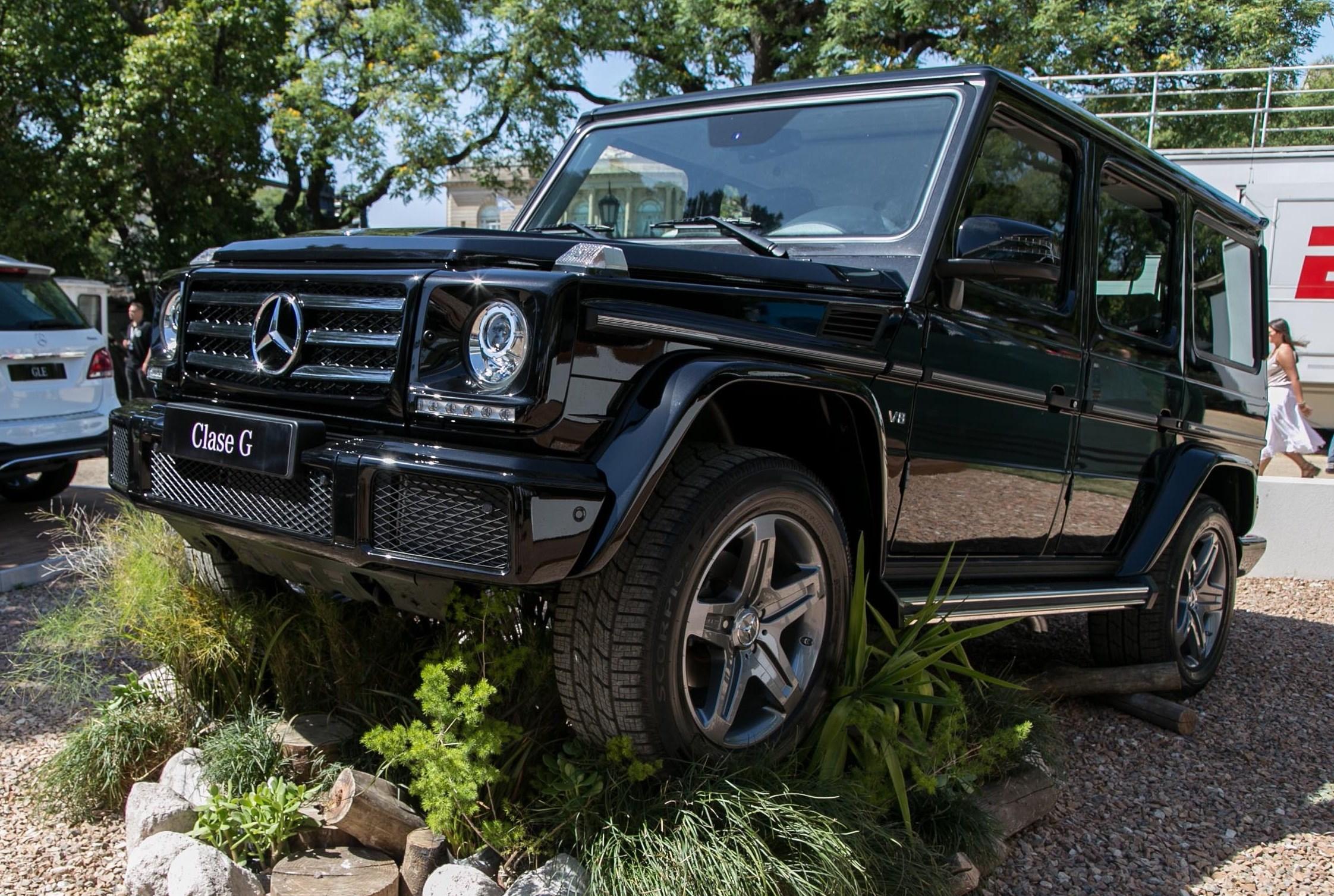 Mercedes benz clase g 2016 llega con m s poder autocosmos for Mercedes benz clase g