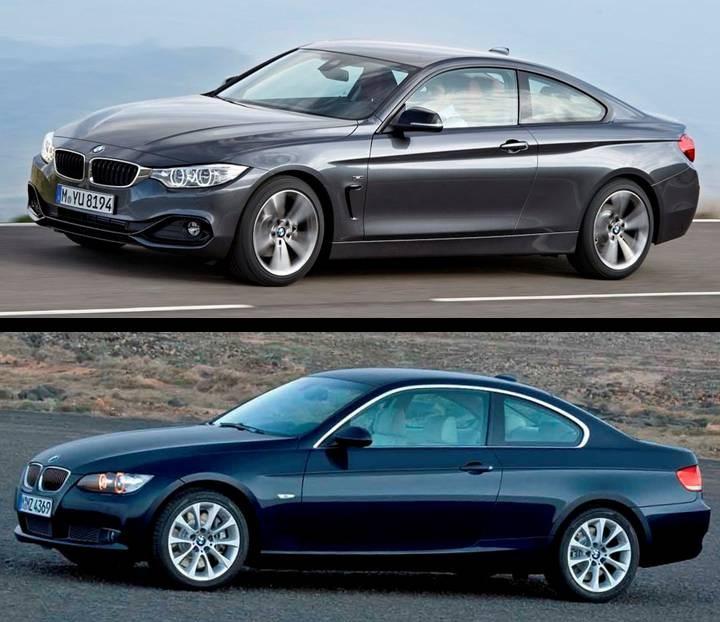 Bmw Z4 Vs Supra: BMW Serie 4 Vs Serie 3 Coupé. Las Diferencias