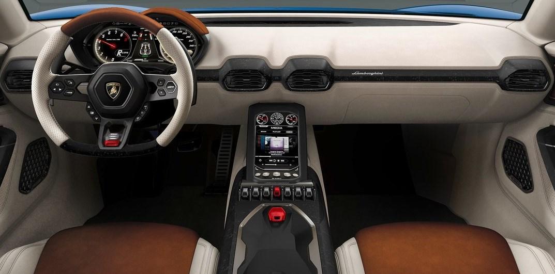 Lamborghini Asterion Minimalista Interior Automotiva