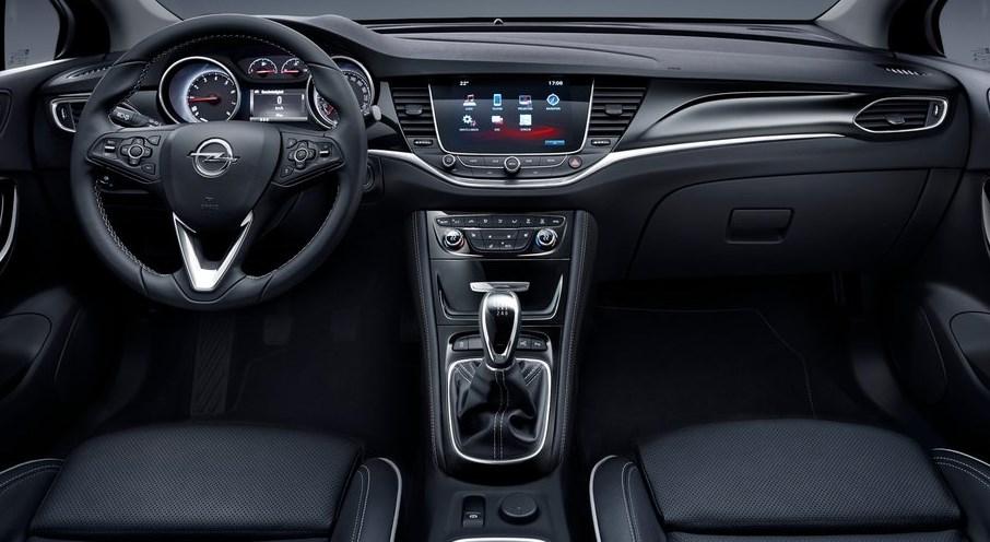 Interior del opel astra 2016 automotiva for Interior opel corsa 2017