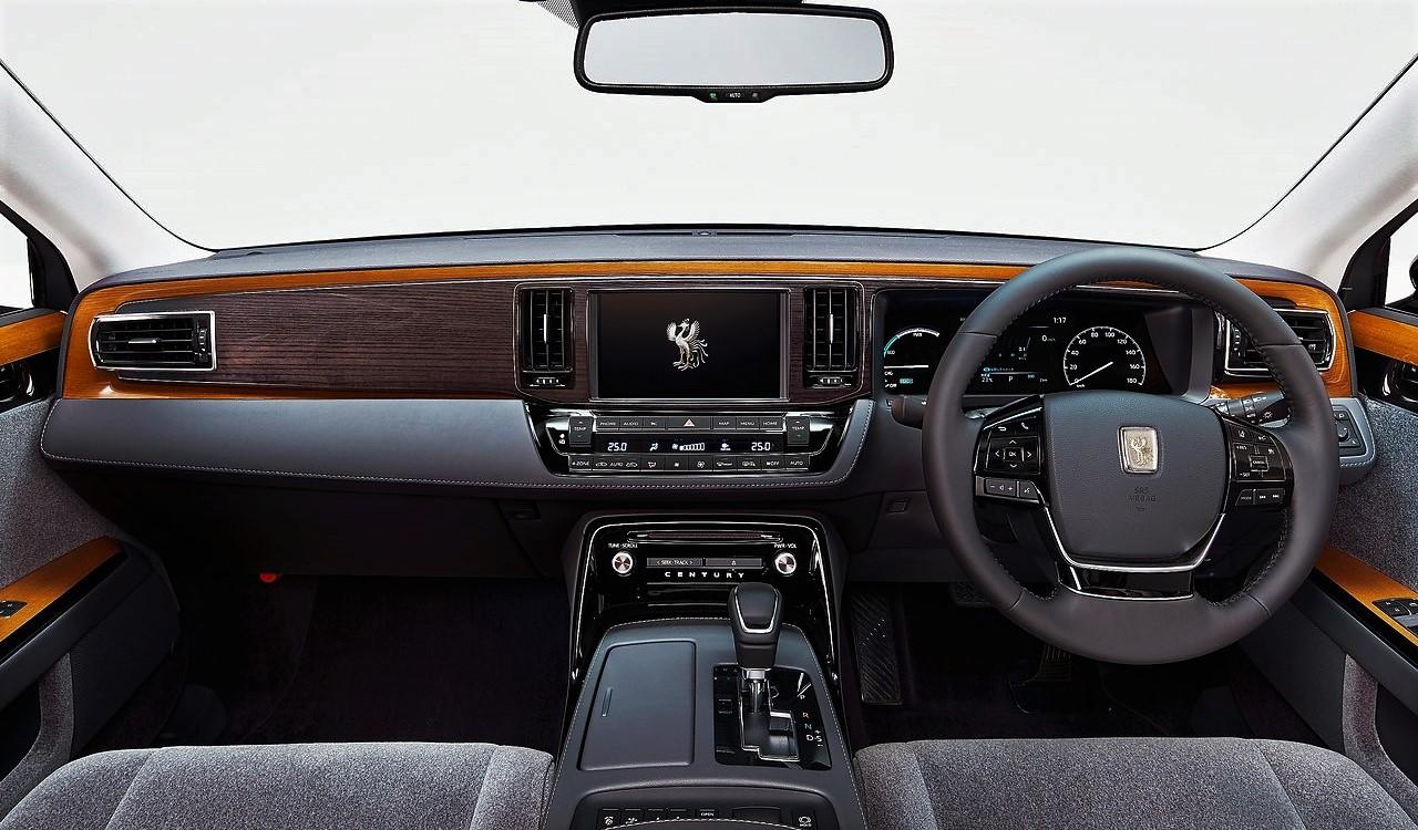Toyota Century Hybrid 2018. El Rolls-Royce japonés ...