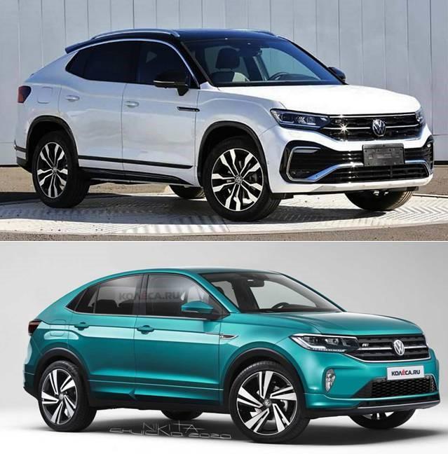Para El Mercado Chino. Volkswagen Tayron X