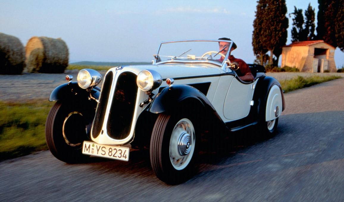 BMW recuerda el 303, el primero «seis en línea» y parrilla ...
