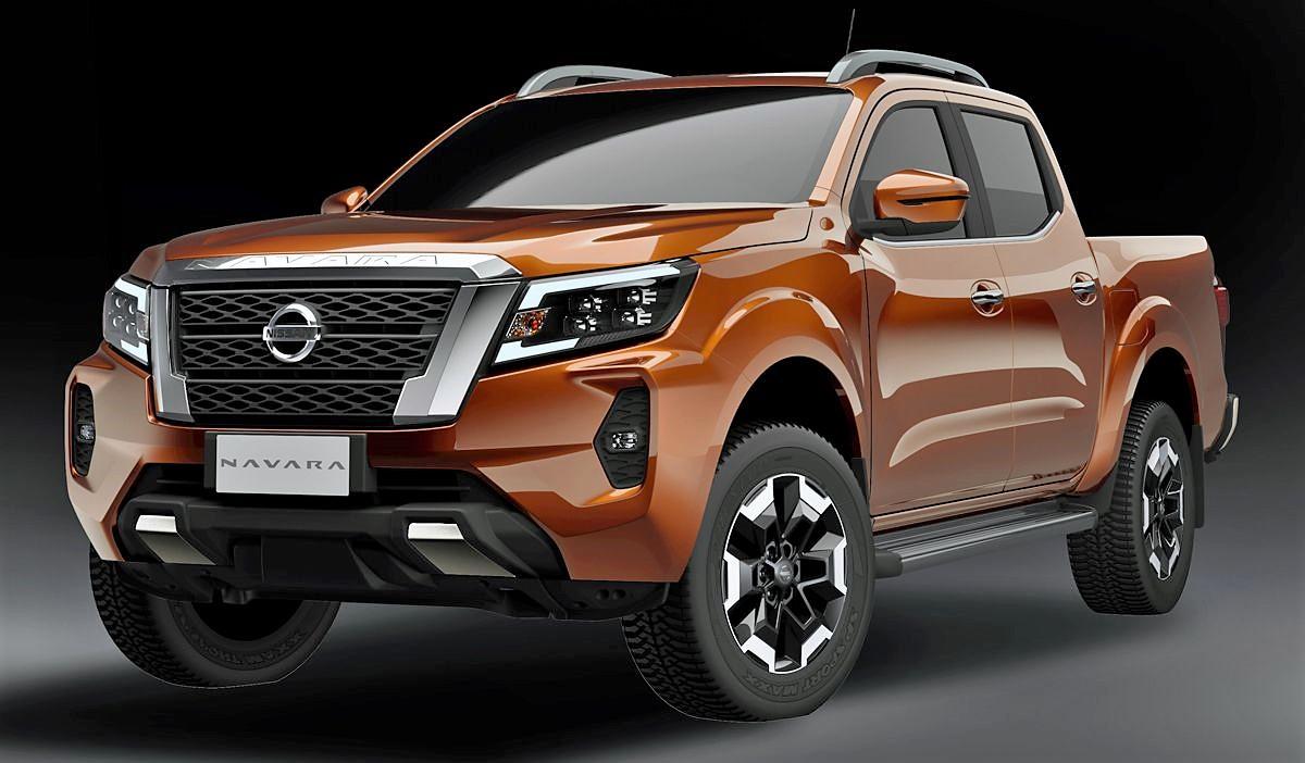acá está la nueva nissan frontier (navara) 2021 | automotiva